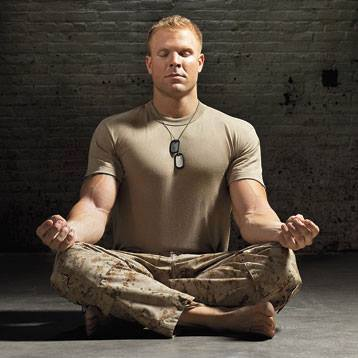 Йога в американской армии