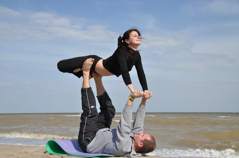 Парная йога в Киеве