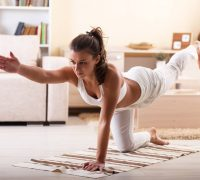 йога - занятия дома