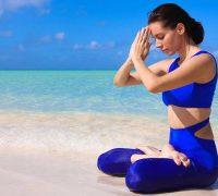 работа с диафрагмой в йоге
