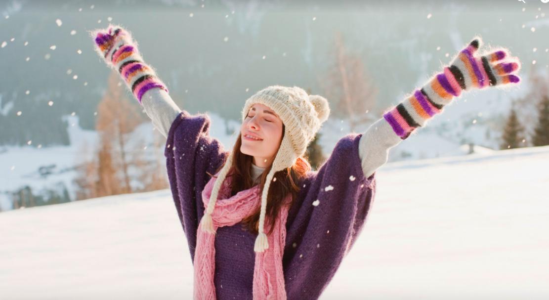 йога, зима, праздник