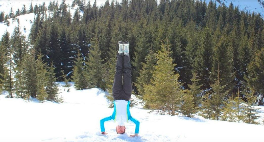 йога зимой