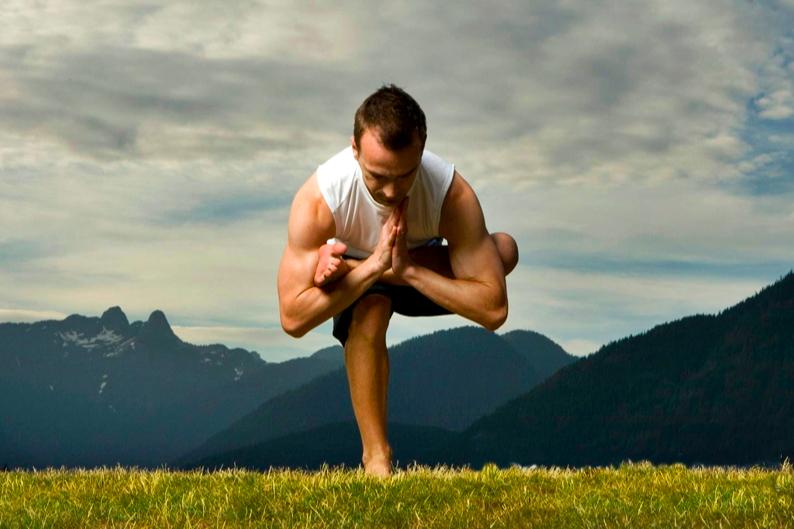равновесные асаны в йоге
