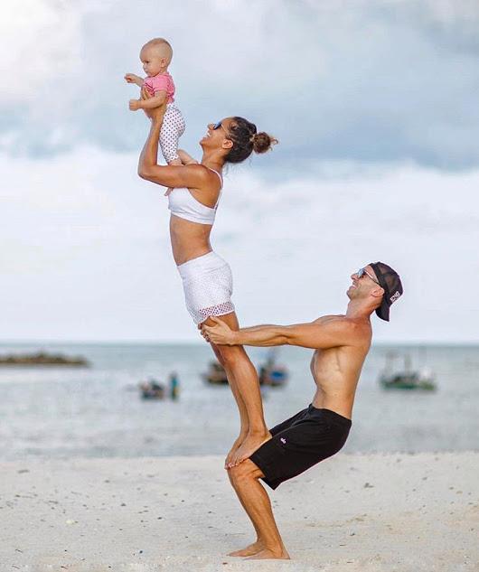 Йога для мам