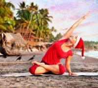 новый год и йога
