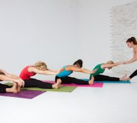 работа с телом в йоге