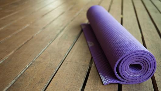 уход за ковриком для йоги