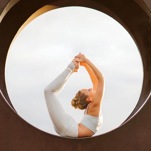 йога окрыляет