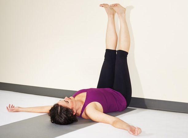 йога - устранение отеков стоп