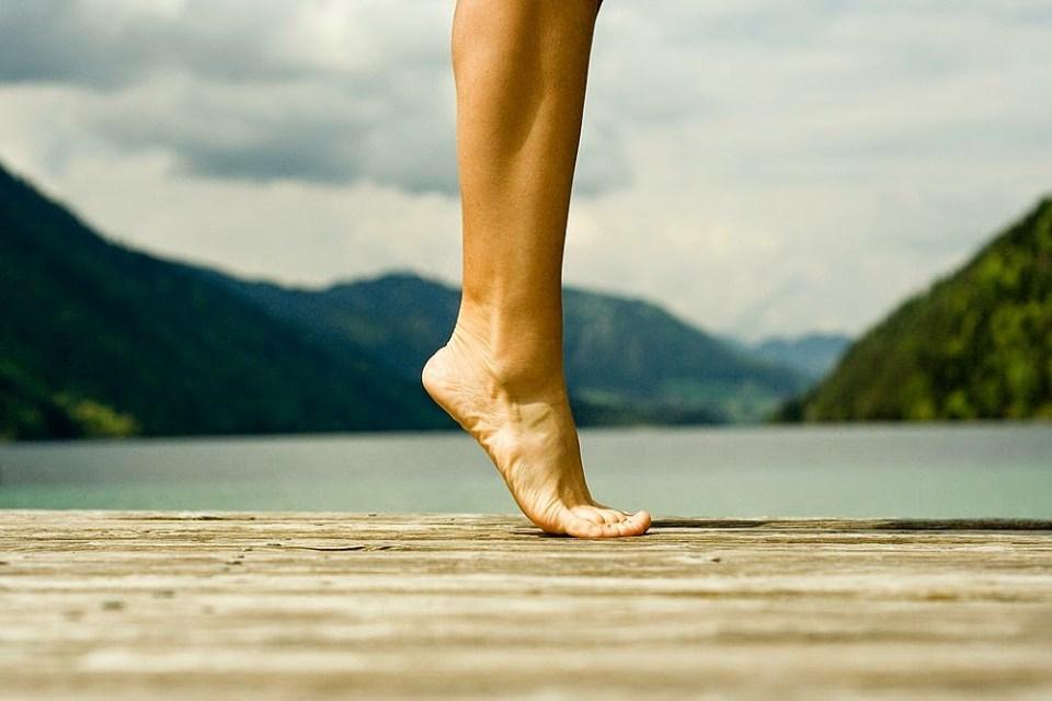 йога - разминка для стоп