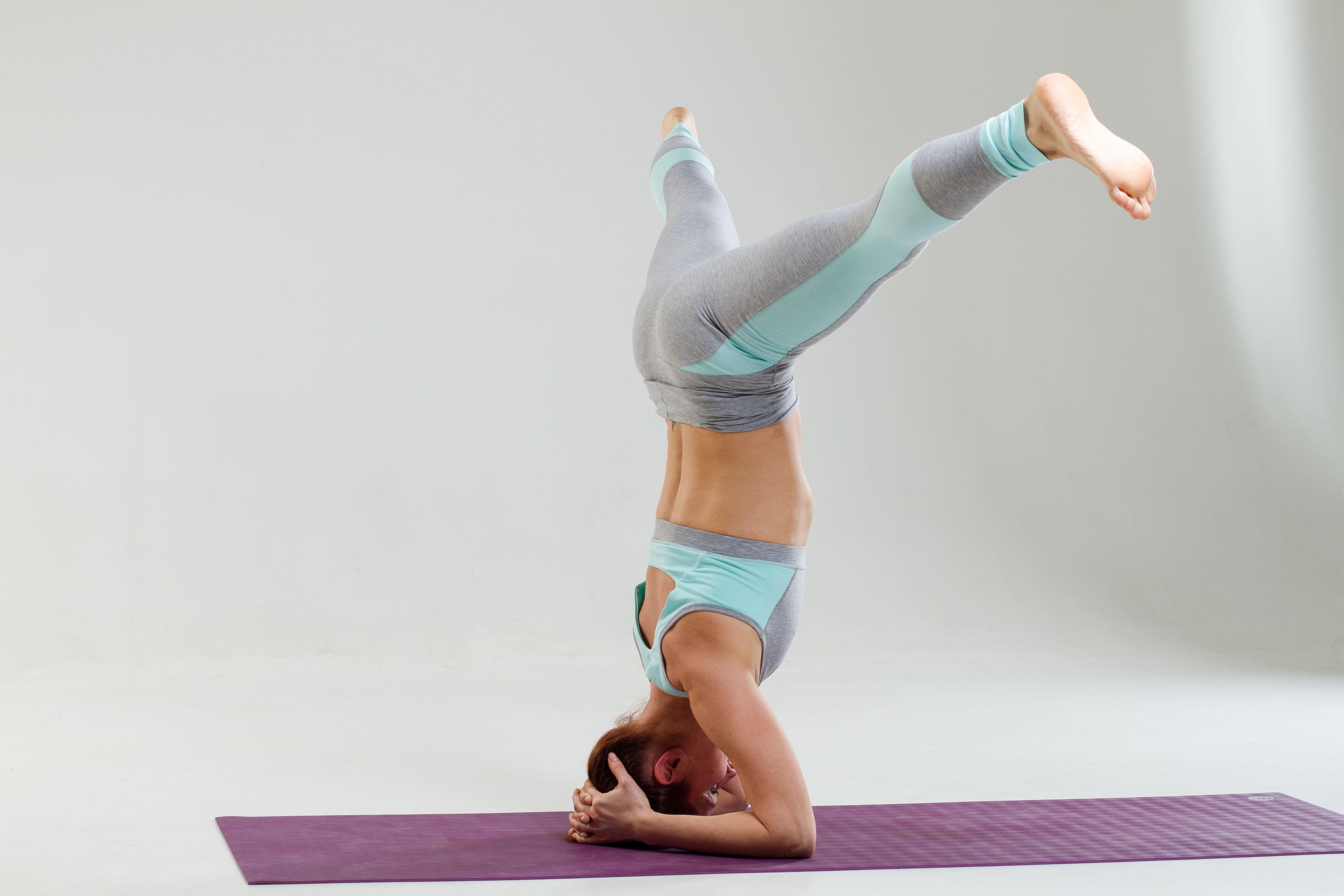 Перевернутые асаны в йоге