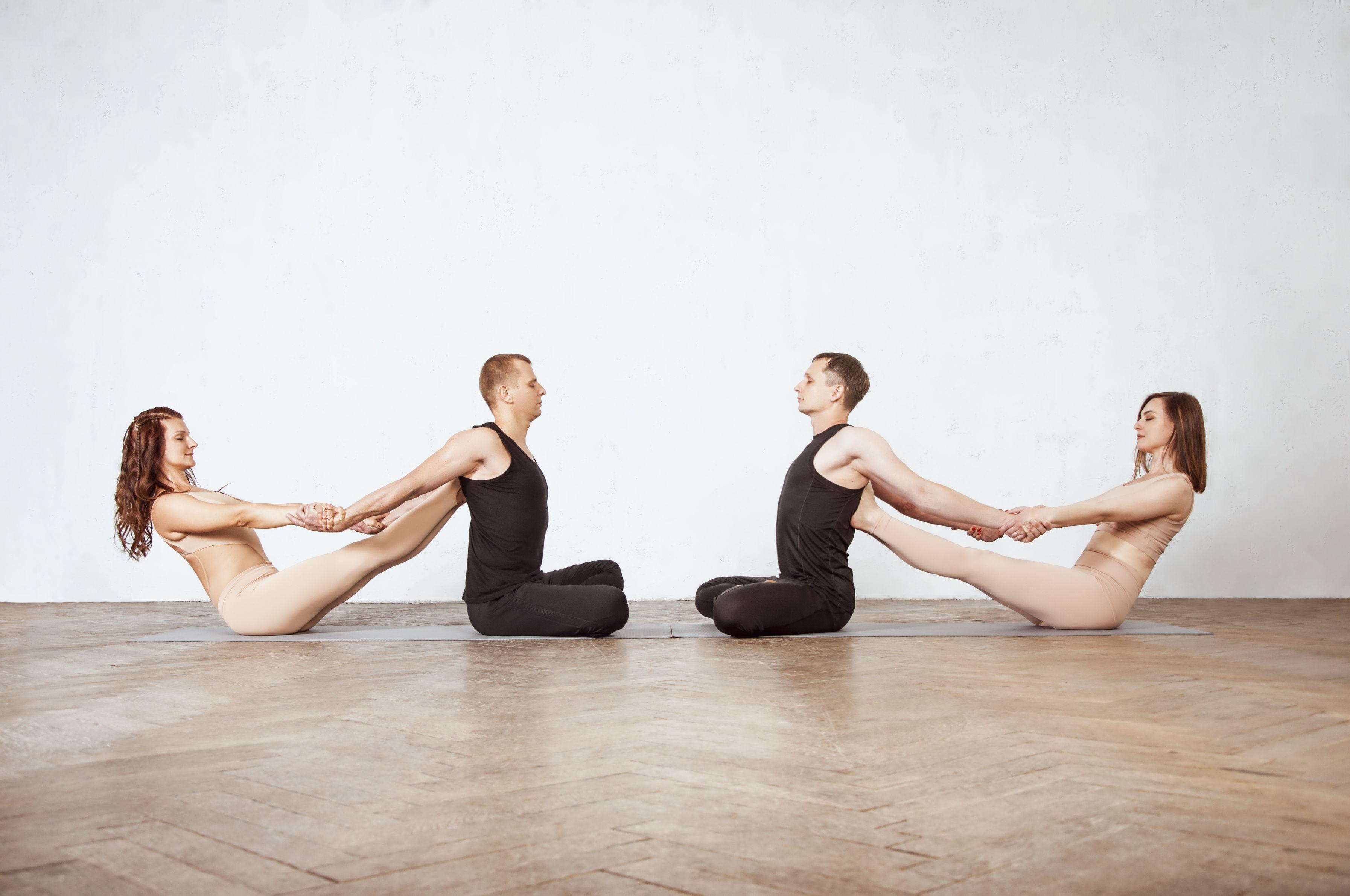 работа с мышечными зажимами в йоге